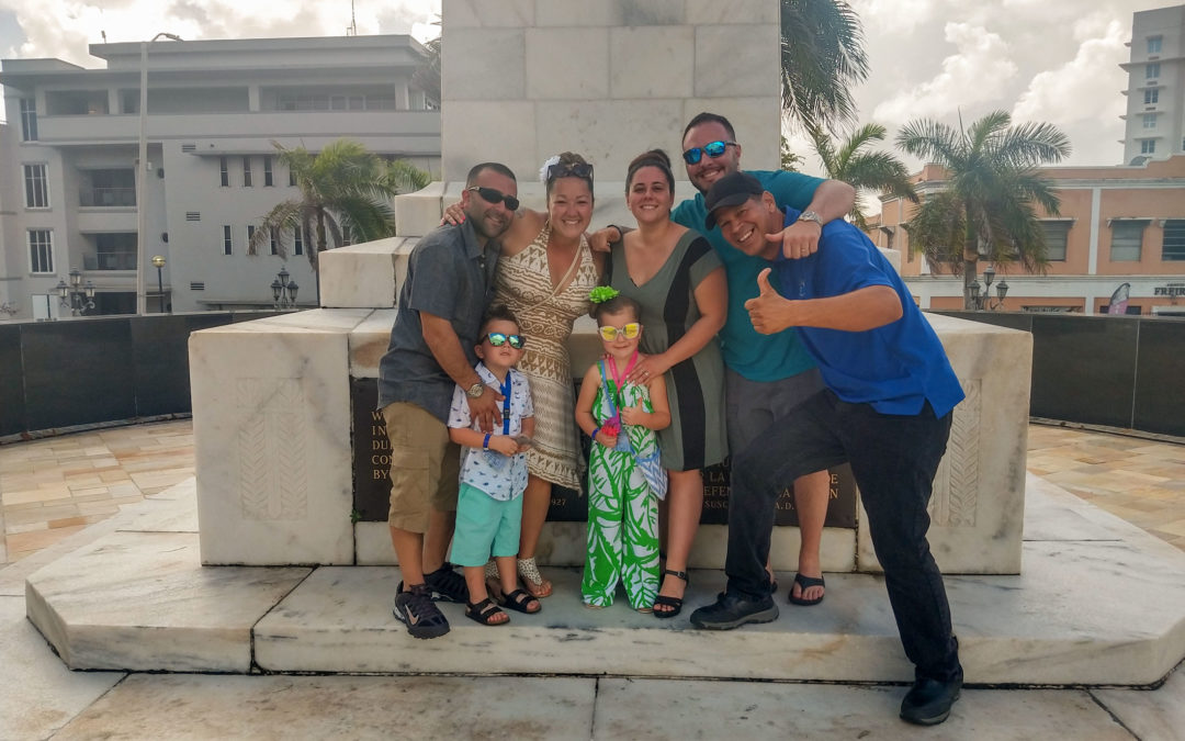 We Provided Shuttle Bus Services for a Family of 12 from Missouri Visiting Puerto Rico